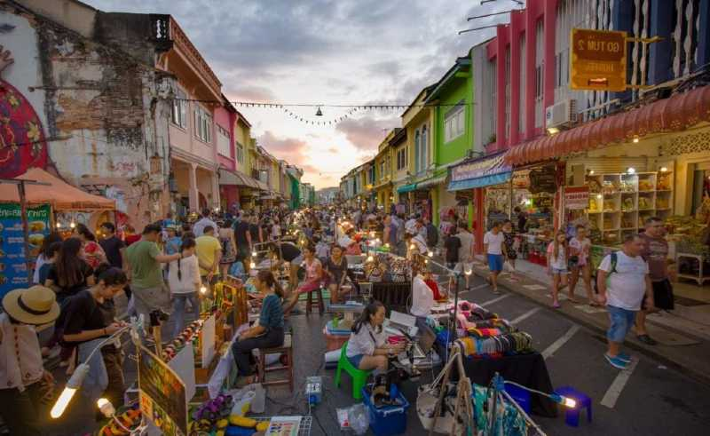 mercados nocturnos phuket