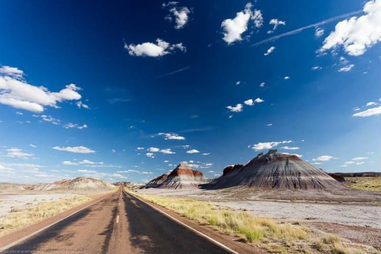 paisaje de la ruta 66