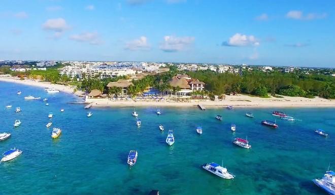 playa coco reef