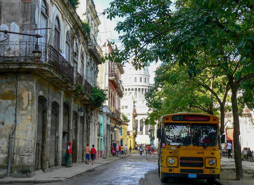 vistas de la ciudad de la habana